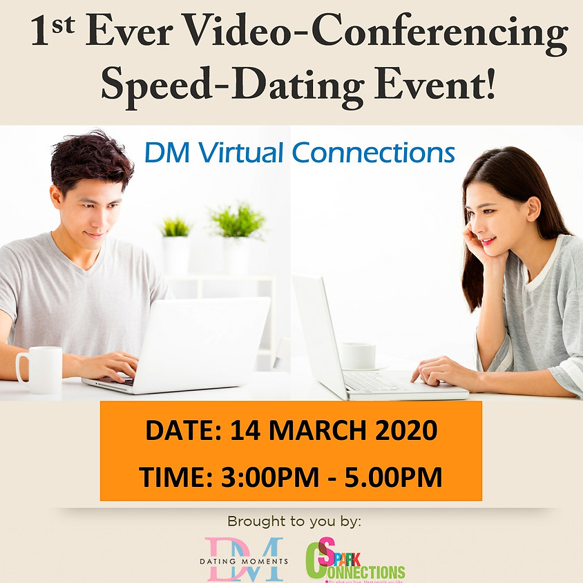 LAST SLOT FOR GENTLEMEN & 2 SLOTS FOR LADIES! Virtual Speed-Dating Event (F <32, M <35) (50% OFF)
