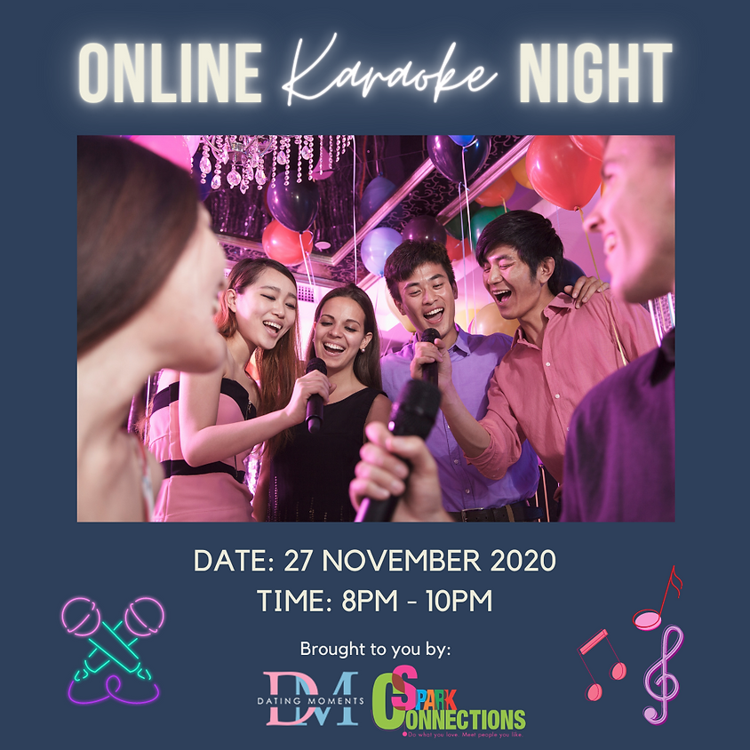 CALLING FOR LADIES! Online Karaoke Night (50% OFF)