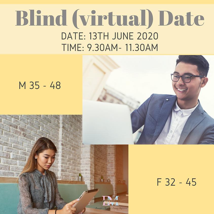 Blind Virtual Date (F 32 - 45, M 35 - 48)
