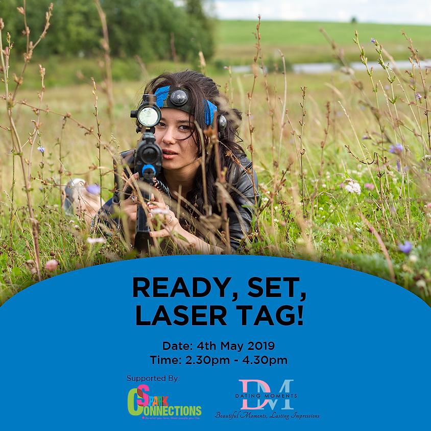 (CALLING FOR LADIES, GENTLEMEN FULL) Ready, Set, Laser Tag! (50% OFF!)