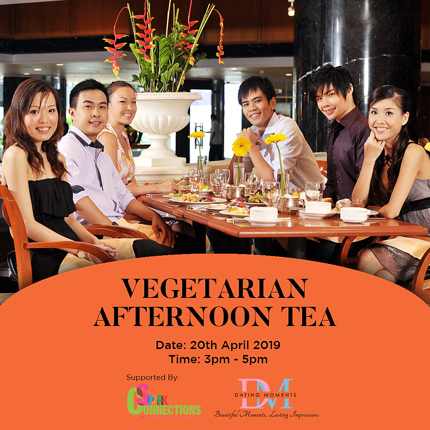 (CALLING FOR LADIES!) Vegetarian Afternoon Tea (50% OFF!)
