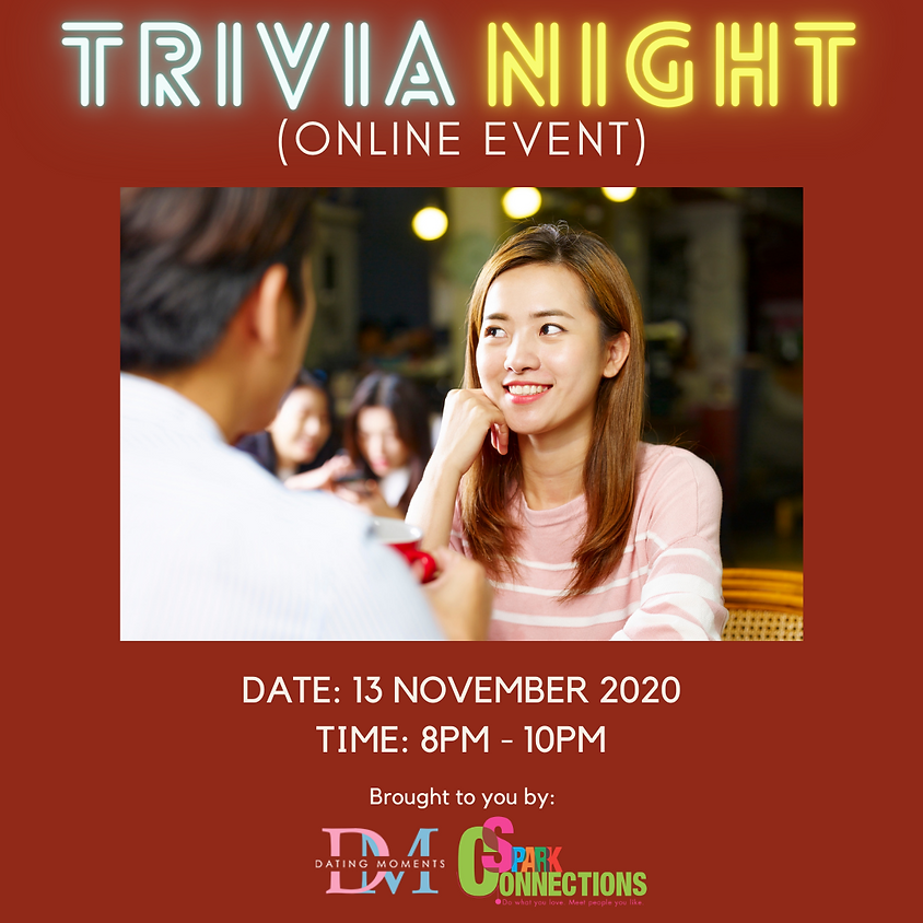 SOLD OUT! Trivia Night (Online Event)