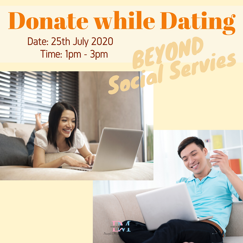 CALLING FOR LADIES! Donate While Dating: Virtual Speed Dating For Charity
