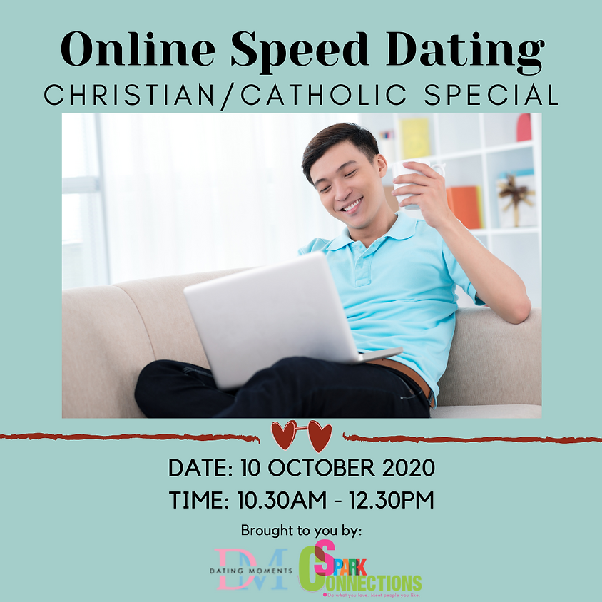 Online Speed Dating (Christian/Catholic Special) (50% OFF)