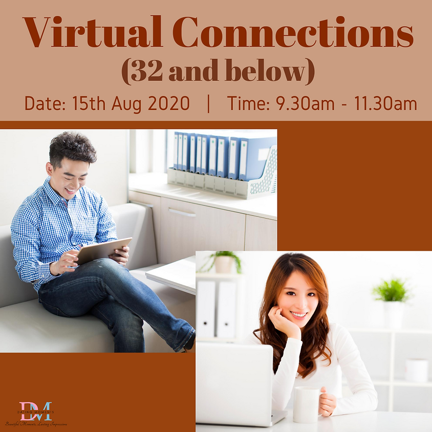 CALLING FOR LADIES! Virtual Speed-Dating Event (32 and below)