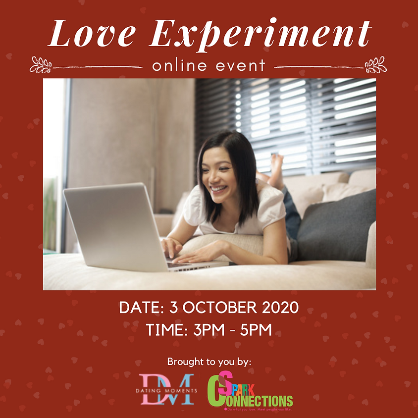Love Experiment (Online Event) (50% OFF) (1)