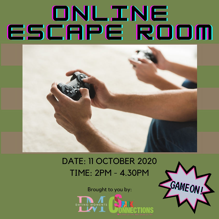CALLING FOR LADIES! Online Escape Room (50% OFF)
