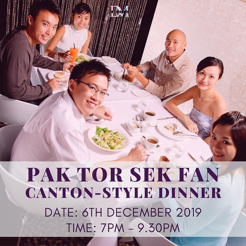 CLOSED Pak Tor Sek Fan Canton-Style Dinner