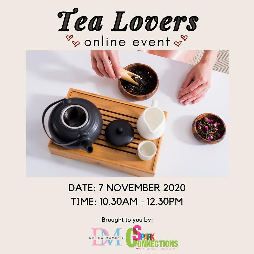 Tea Lovers (Online Event) (50% OFF)