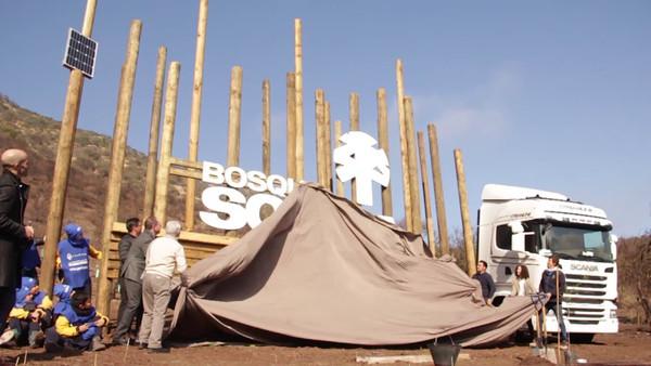 Inauguración Hito Bosque Scania
