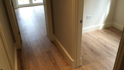 Property Refurbishment - Redway Construct - New Flooring