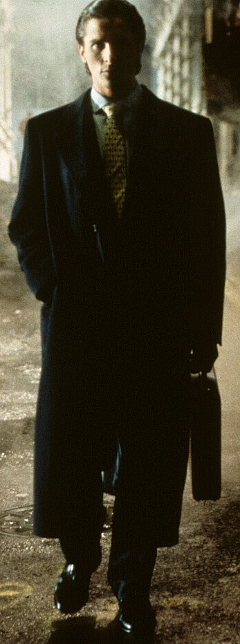 Patrick Bateman (Christian Bale), briefcase - A Classic Review