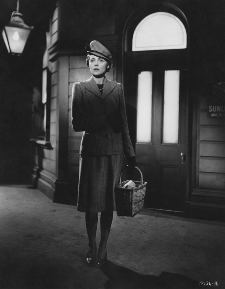 long shot, Celia Johnson standing on train platform - A Classic Review