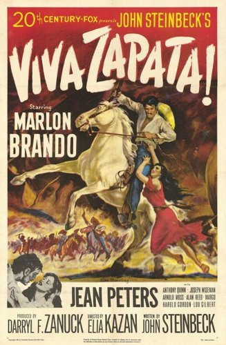 Viva Zapata, red poster - A Classic Review