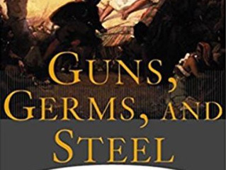 """Guns, Germs, and Steel"" author: Jared Diamond"