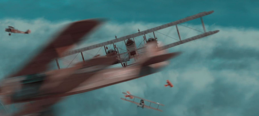 Scene from Hell's Angles, aerial dog fight - A Classic Review