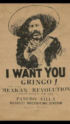 poster, I wont you gringo! - A Classic Review