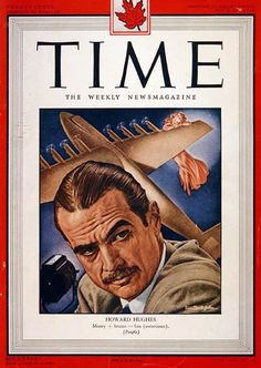 Hughes, Time magazine cover, July 1948 - A Classic Review