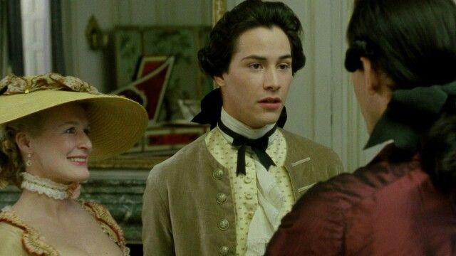 Chevalier Danceny (Keanu Reeves),  Marquise de Merteuil (Glenn Close), - A Classic Review