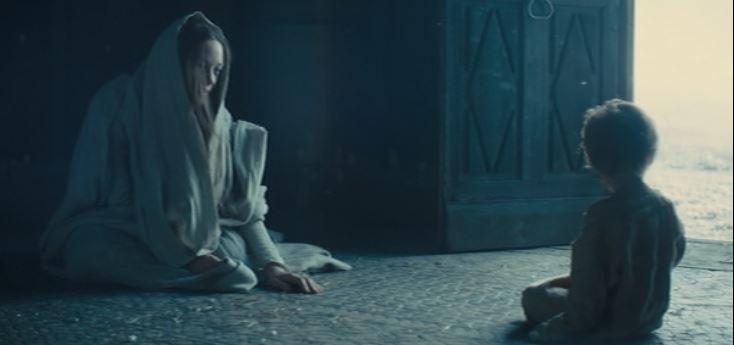 Marion Cotillard, child ghost