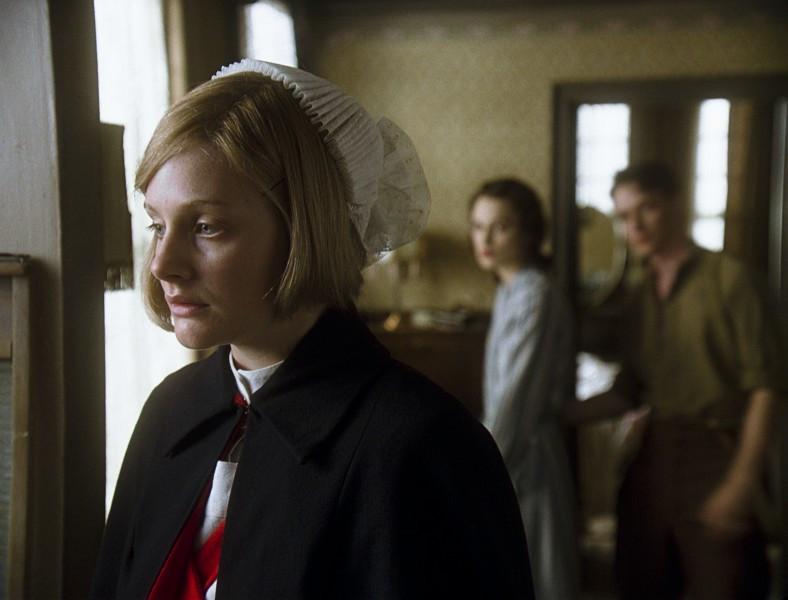 fantasy image nurse Briony, Cecilia, Robbie background - A Classic Review