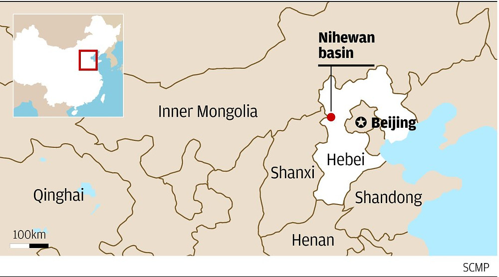 map, Hihewan Basin - A Classic Review