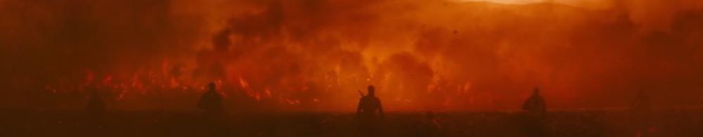 Birham Woods burning