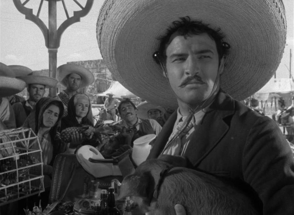 Emiliano Zapata Salazar (Marlon Brando), big hat - A Classic Review