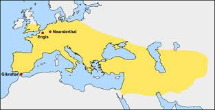 map, Neanderthal, range - A Classic Review