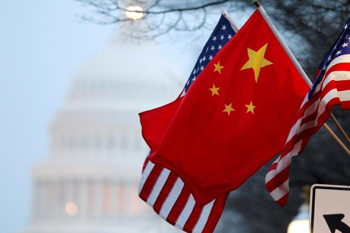 Chinese and American flags - A Classic Review