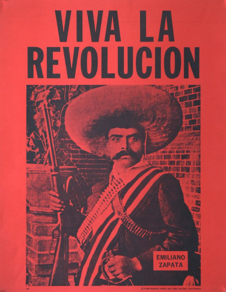 "red poster ""Viva La Revolucion"" - A Classic Review"