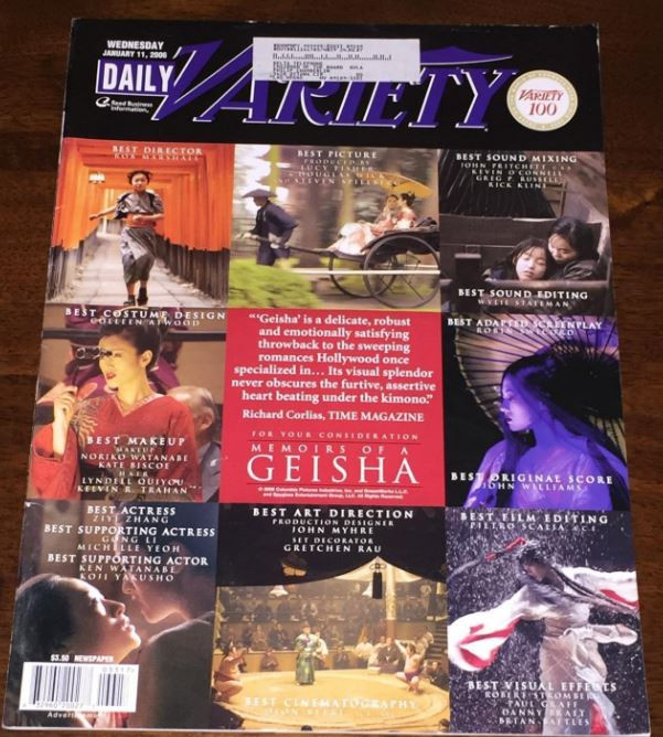 Variety cover  - A Classic Review