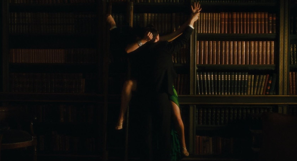Cecilia, Robbie having sex in library - A Classic Review