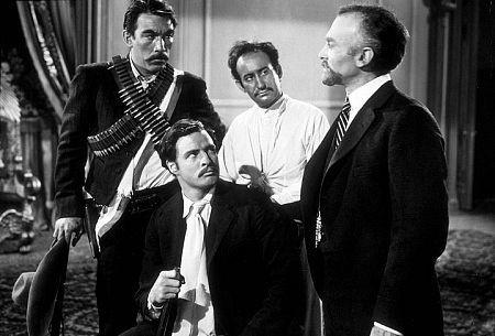 Emiliano Zapata Salazar (Marlon Brando), Eufemio Zapata (Anthony Quinn), Poncho Villa (Alan Reed), Francisco Madero (Harold Gordon),  Porfirio Diaz (Fay Roope) - A Classic Review