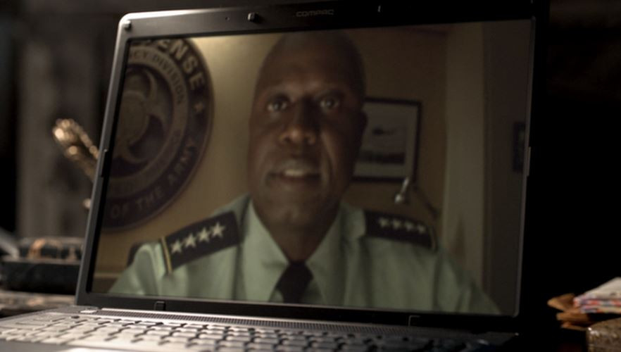 computer monitor,  General George W. Mancheck (Andre Braugher) - A Classic Review
