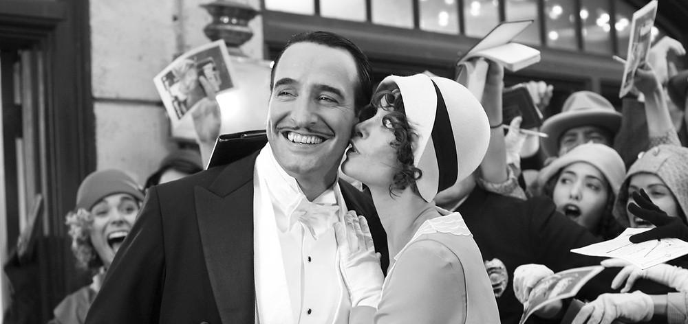 George (Jean Dujardin), Peppy (Berenice Bejo)