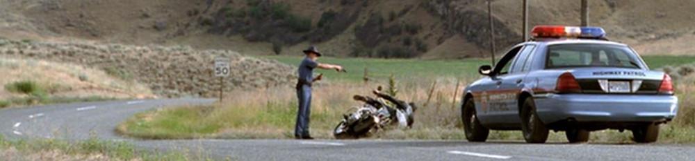 state parolman kills motorcyclist