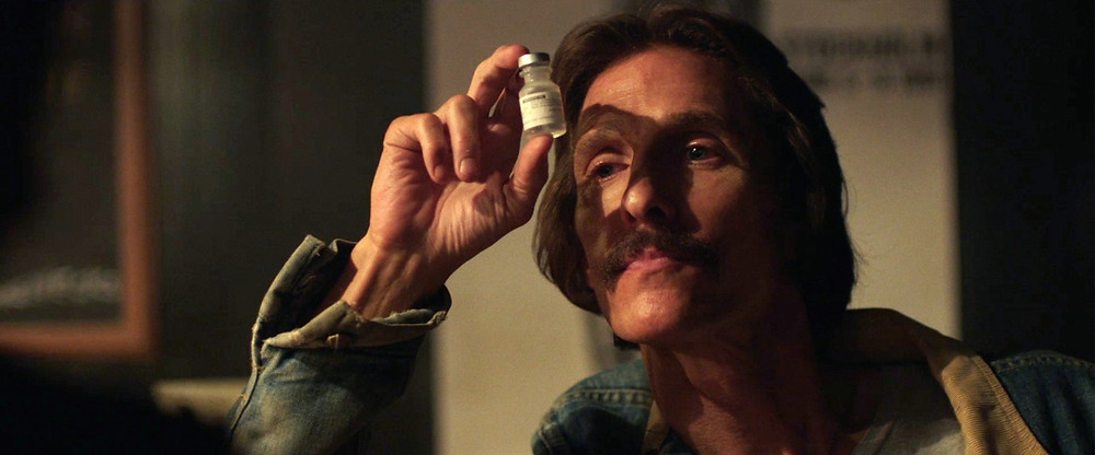 close up Matthew McConaughey examines vile - A Classic Review