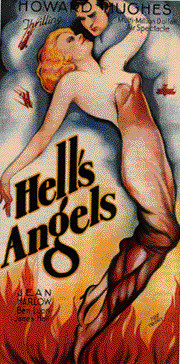 Hell's Angels poster, Hughes' third movie - A Classic Review