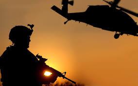 sunrise, Marine, gun, helilcopter - A Classic Review