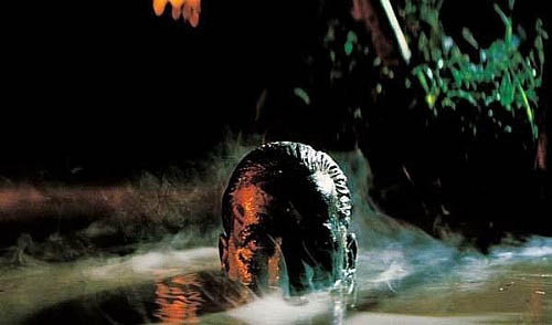 close up Martin Sheen, partially submerged in water - A Classic Review