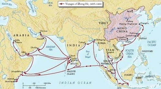 China's ship routes - A Classic Review