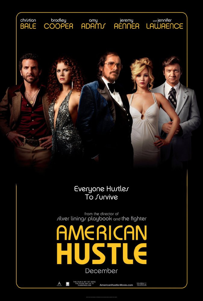 American Hustle, poster - A Classic Review