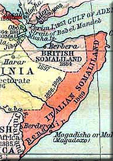 map, Somalia - A Classic Review