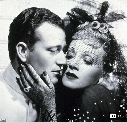 John Wayne, Marlene Dietrich
