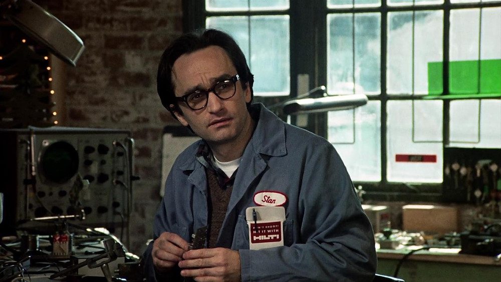 John Cazale working in sound laboratory - A Classic Review