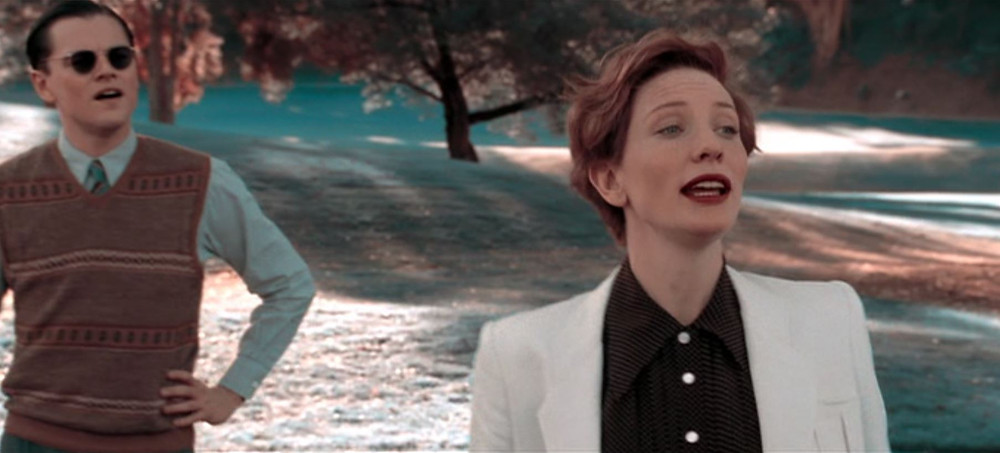 Blanchett and DiCaprio simulated 2-strip technicolor - A Classic Review