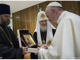 Nunca a colaboração entre ortodoxos e católicos foi tão importante como hoje, diz Patriarcado de Mos