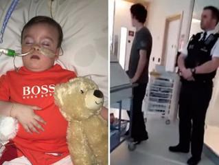 Polícia da Inglaterra impede que pais retirem Alfie Evans do hospital