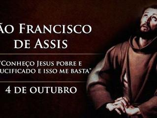 Hoje é celebrado São Francisco de Assis, exemplo de pobreza, harmonia e paz
